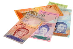 Money of Venezuela Royalty Free Stock Photos