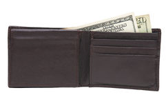 Money in wallet. Stock Images