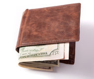 Money in Wallet Royalty Free Stock Photography