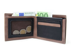 Money in the wallet Royalty Free Stock Image