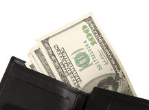 Money in wallet Stock Image
