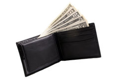 Money in a wallet Stock Photo