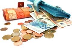 Money in wallets