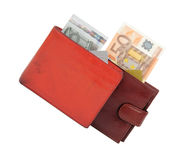 Money and wallets Stock Photos