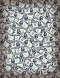 Money Wallpaper. A vintage money background texture stock photo