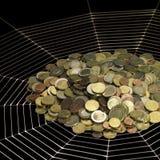 Money and web Stock Photos
