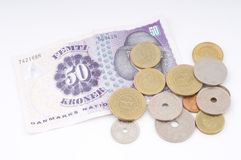 Money on white Stock Photography