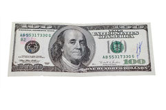Money on a white background Royalty Free Stock Photos