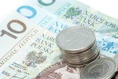 Money. On the white background Stock Photo