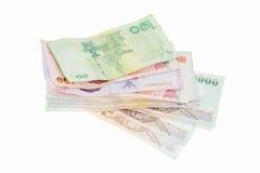 Money on white background Stock Photography