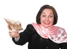 Money winner Royalty Free Stock Photo