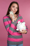 Money Woman Stock Photo