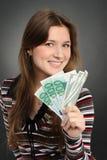 Money Woman Royalty Free Stock Image
