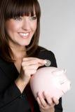 Money Woman Royalty Free Stock Photo