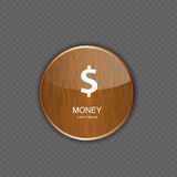 Money wood application icons Stock Images