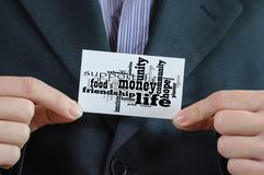 Money word cloud business concept. Background stock photo