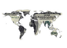 Money world Stock Photography
