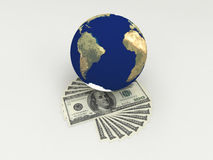 Money in the world. Stock Photography