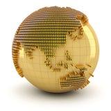 Money world, Asian region Royalty Free Stock Photos