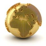 Money world, Europe region Stock Photos