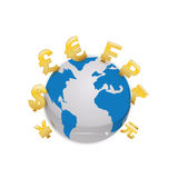 Money of world Royalty Free Stock Images