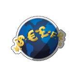 Money of world Royalty Free Stock Photo