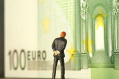 Money worries metaphor Royalty Free Stock Images
