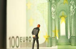 Money worries metaphor Stock Images