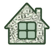Money in your home Stock Photos