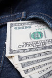 Money in your pocket Stock Photos