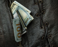 Money in your pocket vest 5. Royalty Free Stock Photos