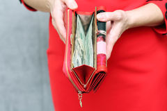 Money in your wallet Stock Photo