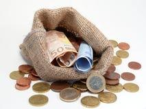 Moneybag Image libre de droits