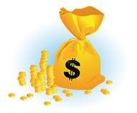 Moneybag Fotografia de Stock Royalty Free