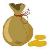 moneybag Stock Afbeelding