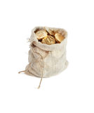 Moneybag On White Royalty Free Stock Images