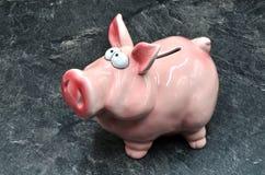 Moneybox свиньи Стоковое Изображение