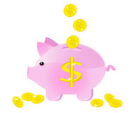 Moneybox Royalty Free Stock Photos