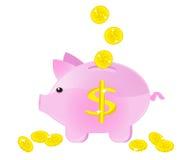 Moneybox Lizenzfreie Stockfotos