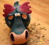 Moneybox Foto de Stock Royalty Free