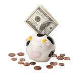 moneybox Fotografia Stock Libera da Diritti