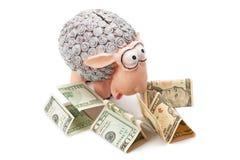 moneybox Fotografie Stock