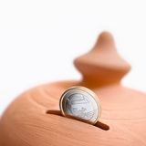 moneybox Royaltyfri Foto