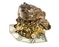 Moneybox aisló Fotos de archivo