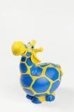 Moneybox de giraffe Image stock