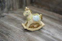 Moneybox in de vorm van een paard Stock Afbeelding