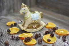 Moneybox i form av en häst Royaltyfria Foton