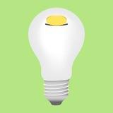 Moneybox-lampada Fotografia Stock