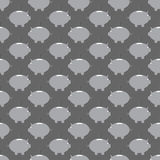 Moneybox seamless pattern background Royalty Free Stock Photography
