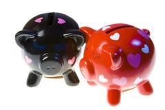 Moneyboxes Imagens de Stock Royalty Free